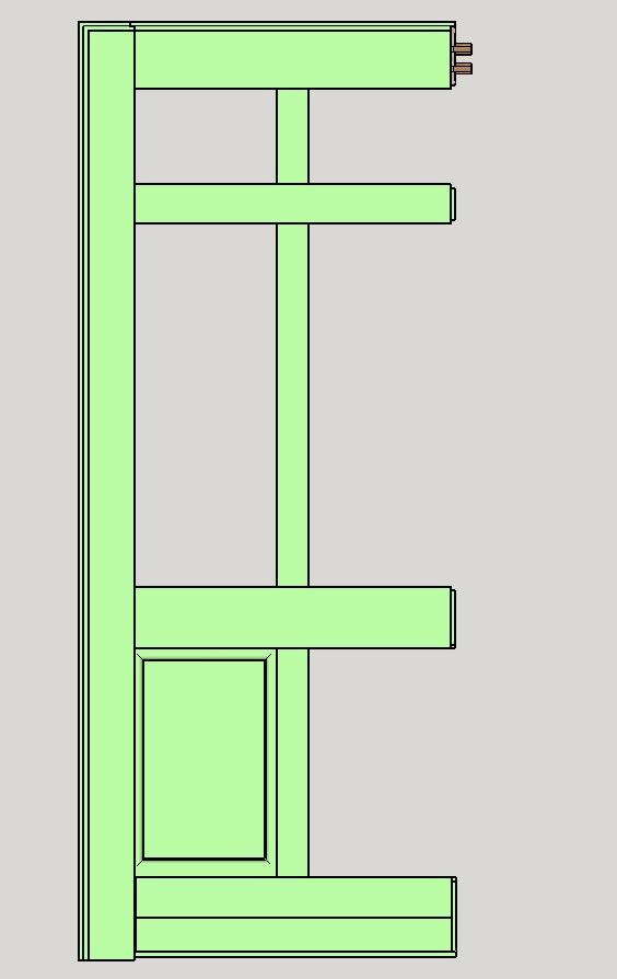 Porte d'entrée vitrée avec  grand cadre - Page 5 Assemb14