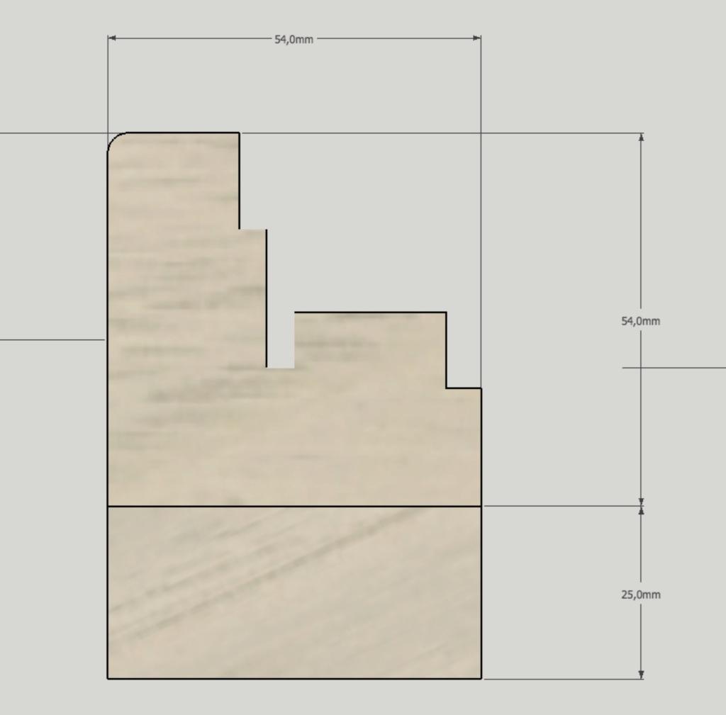 Porte d'entrée vitrée avec  grand cadre - Page 2 Coupe_18