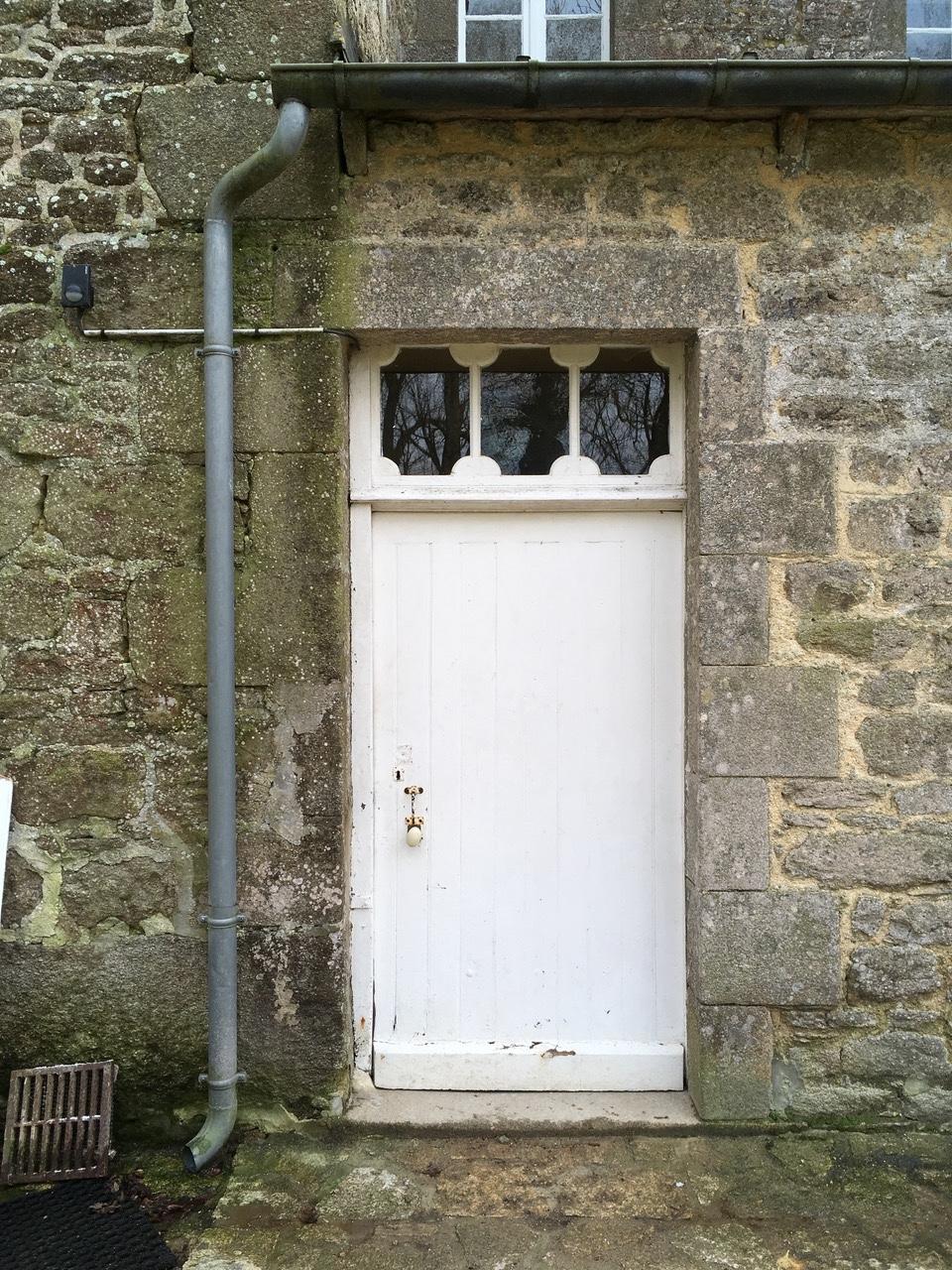 porte vitrée grand cadre - Porte d'entrée vitrée avec  grand cadre Img_1210
