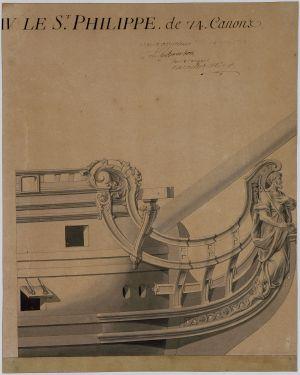 Tranche arrière du St. Philippe M5026-16