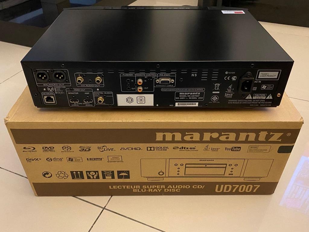 Marantz UD7007 super audio cd player/blu-ray player/sacd player/blu ray player/blu-ray player Wechat39