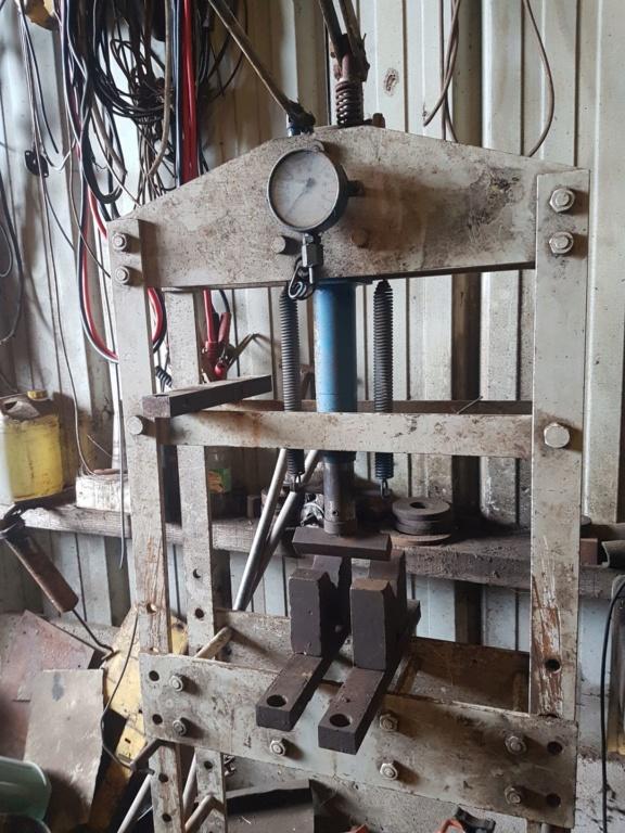 transformer une presse d atelier en presse plieuse 20190411