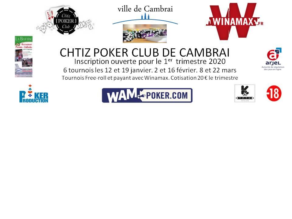 CHTIZ POKER CLUB CAMBRAI 79596610
