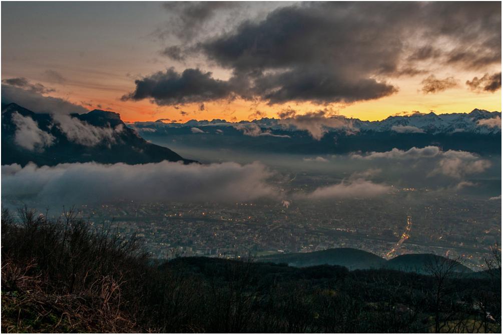 [Paysages] Lever de soleil sur Grenoble Sans_t11