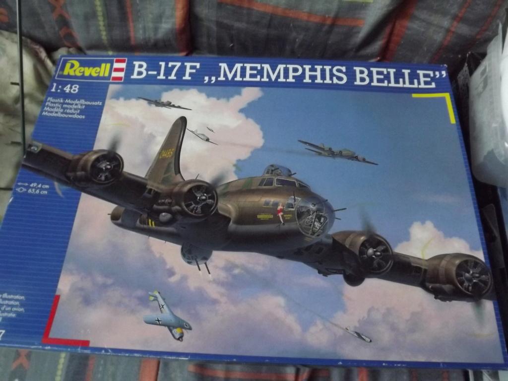 B 17 Memphis Belle Revell 1/48 Dscf3442