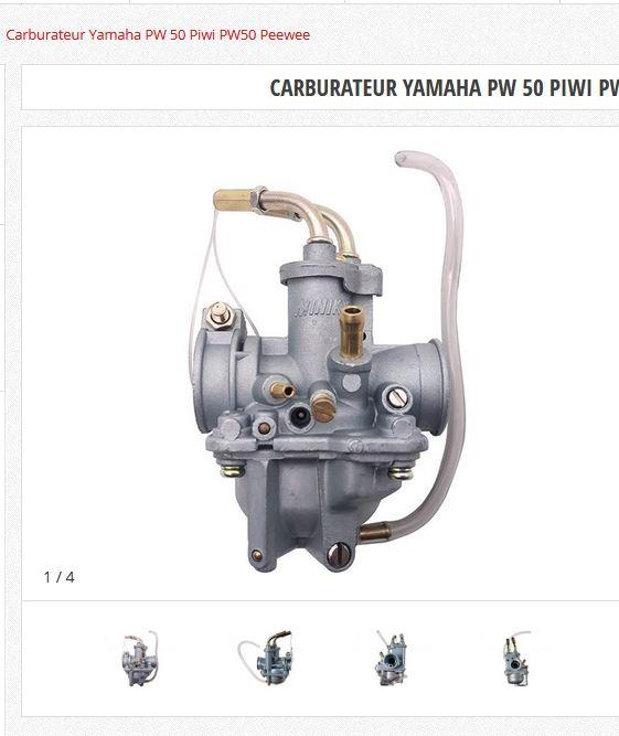 cyclo MBK CT50 3DL moteur yamaha  Carbu_10