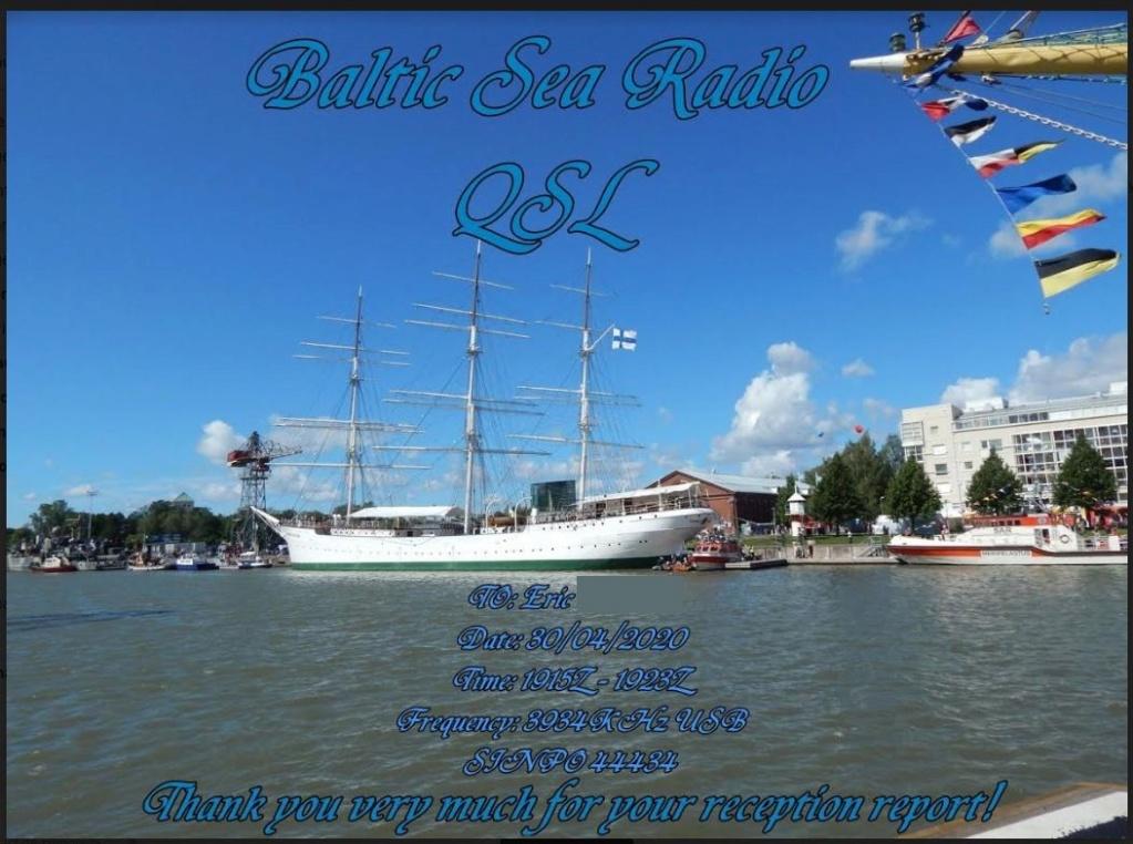 eQSL de Baltic Sea Radio Bsr10