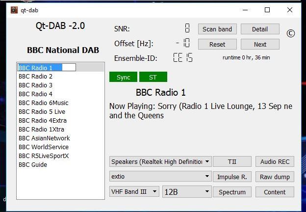 Premier DX en DAB+ (250 km) Dab210