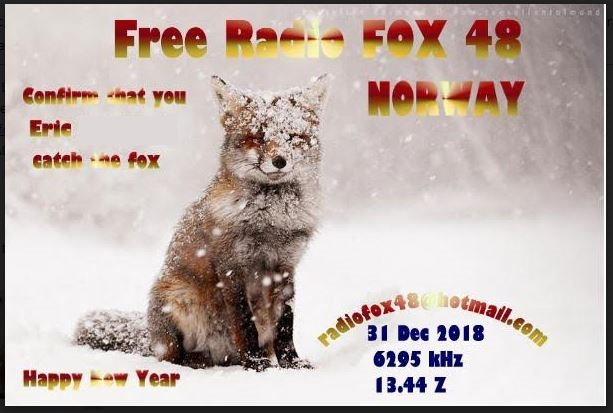 eQSL de FOX48 - Norvège Fox10