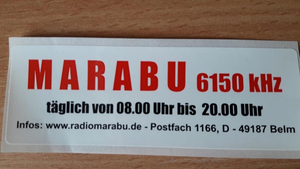 QSL de radio Marabu Marabu13