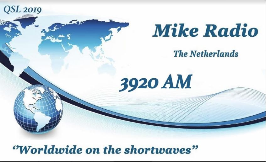 eQSL de MIKE RADIO Mike3910