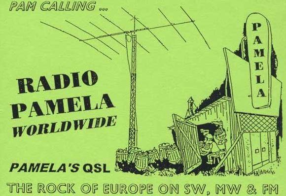 eQSL de radio Pamela Pam310