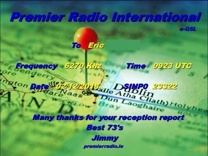 eQSL de premier radio Prem_210
