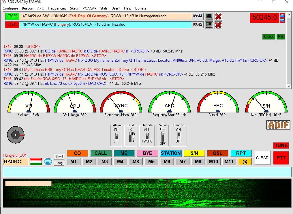 QSO en ROS sur 50245 Ros_qs10