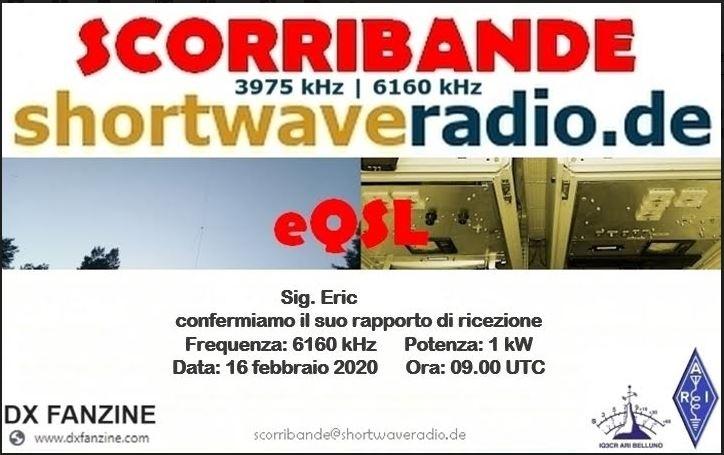 eQSL de radio Scorribande Scorri10