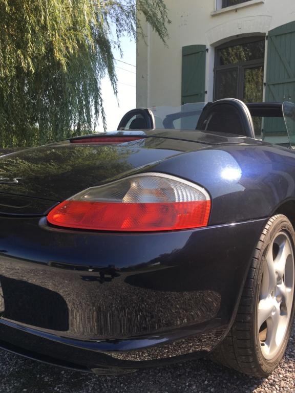 Ma première Porsche est dans le garage, et c'est ... Une Boxster S!!! Img_3711