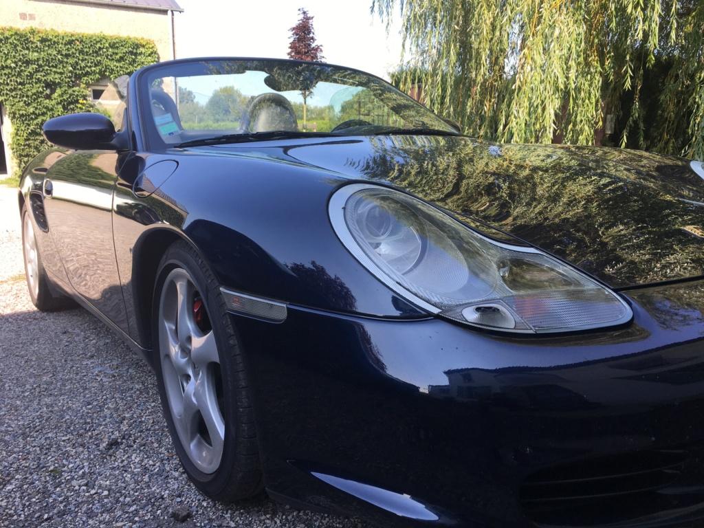 Ma première Porsche est dans le garage, et c'est ... Une Boxster S!!! Img_3712