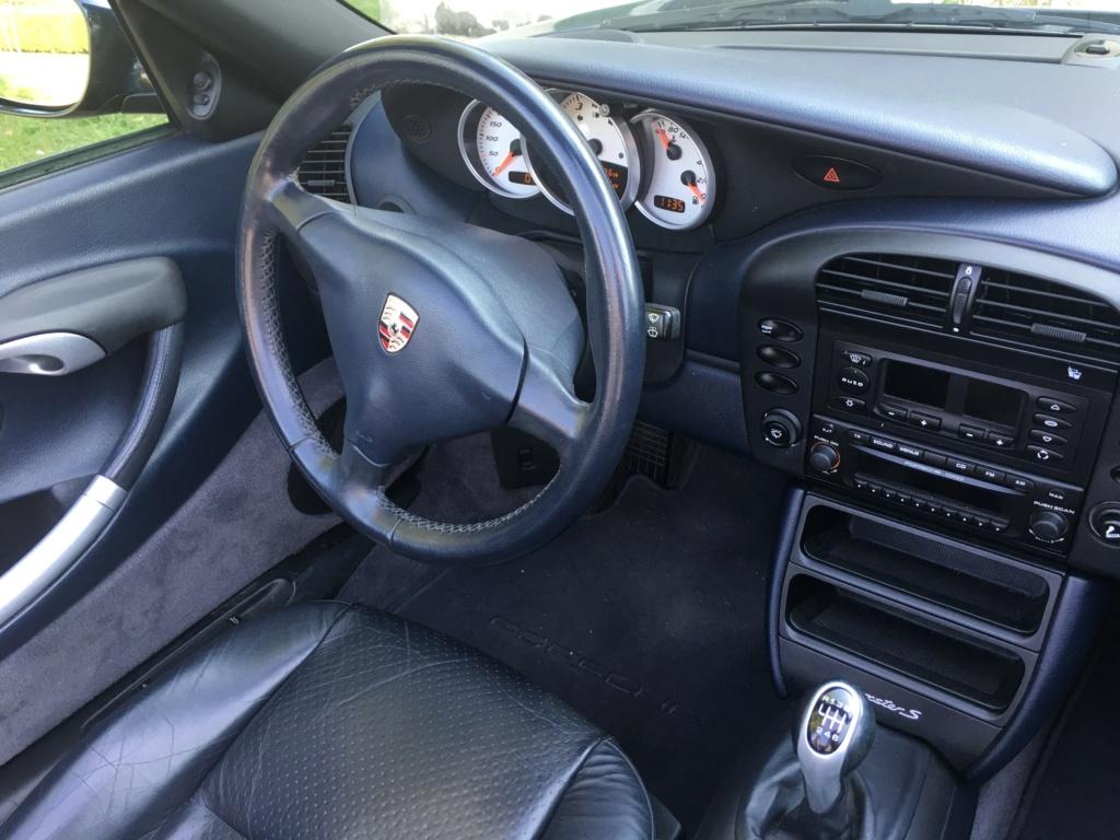 Ma première Porsche est dans le garage, et c'est ... Une Boxster S!!! Img_3713