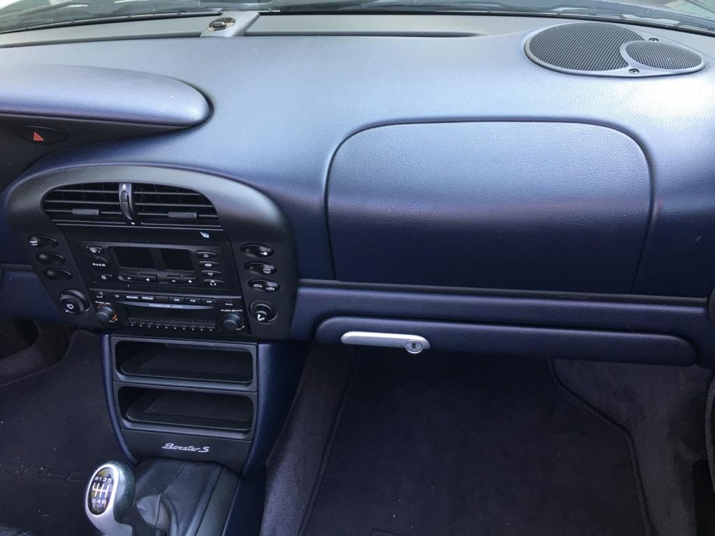 Ma première Porsche est dans le garage, et c'est ... Une Boxster S!!! Img_3714