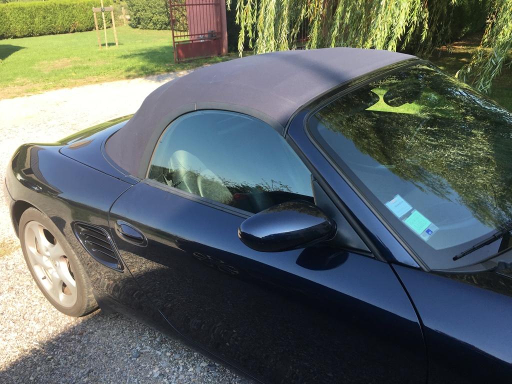 Ma première Porsche est dans le garage, et c'est ... Une Boxster S!!! Img_3715