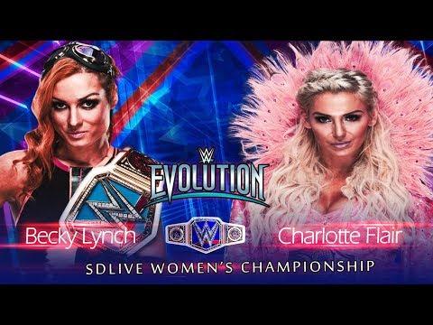 WWE Evolution 2018(Carte et Résultats) 010