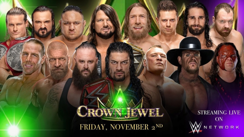 WWE Crown Jewel 2018 (Carte et Résultats) Maxres19