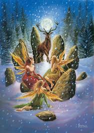 Les Célébrations de Yule et Alban Arthun et le lien que le Druide peut établir avec son environnement Dscn0388