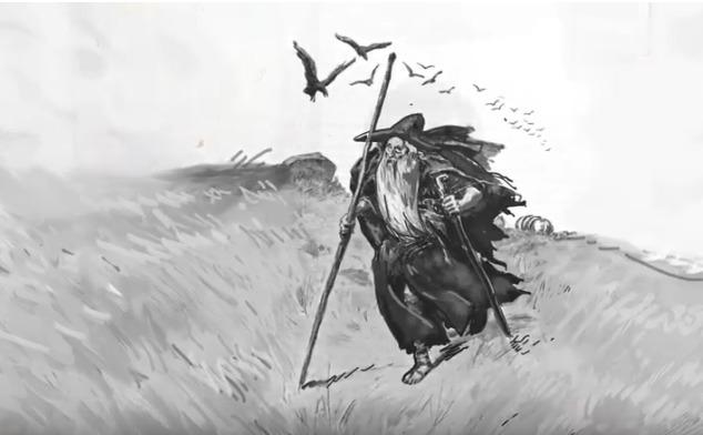 Odin dans la Northern îsles Tradition et les îles Orkney. Ob_e9810
