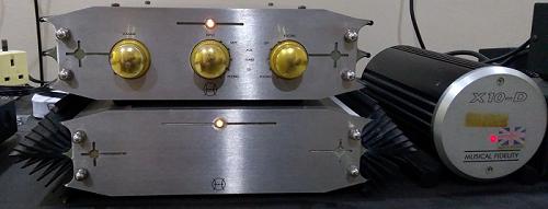 Audio Alchemist Kraken Pre(APD7)/Power(APD8) & Musical Fidelity X-10D (Used) Aaa310
