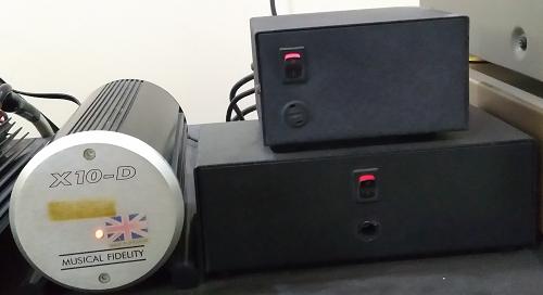 Audio Alchemist Kraken Pre(APD7)/Power(APD8) & Musical Fidelity X-10D (Used) Bbb110