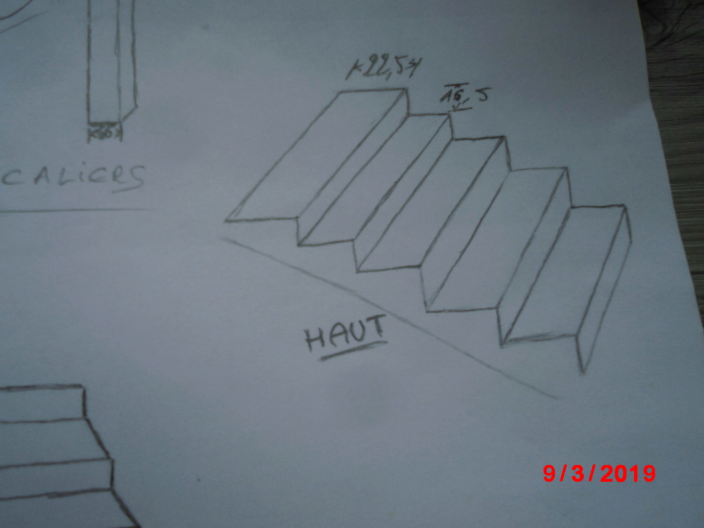 Placage d' escalier  Cimg3115