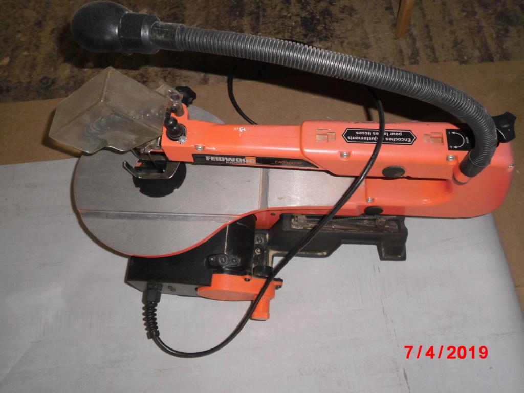 FEIDER Scie à chantourner 125W avec coffret d'accessoires Cimg3224