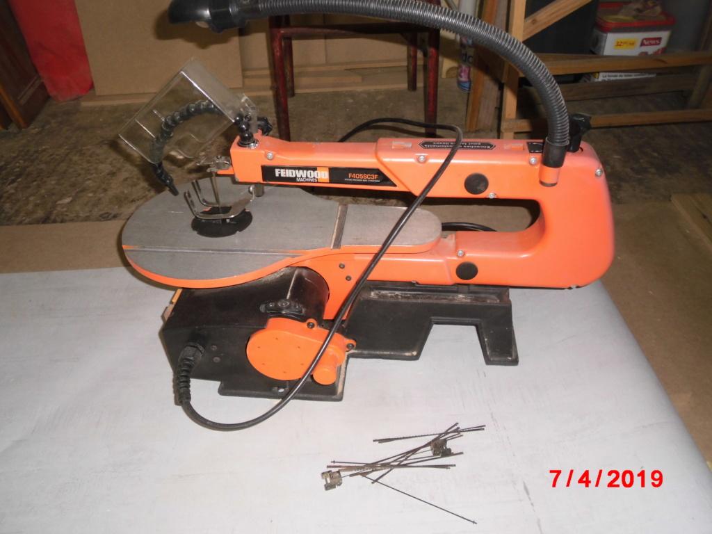 FEIDER Scie à chantourner 125W avec coffret d'accessoires Cimg3225