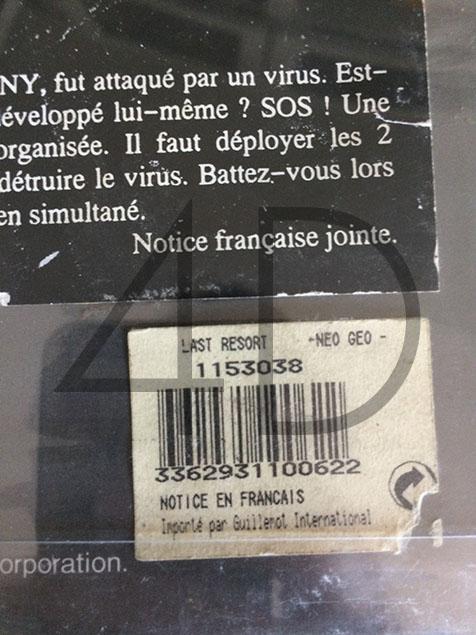CODE-BARRES AES : sticker en français des versions GUILLEMOT (listing) Last_r10