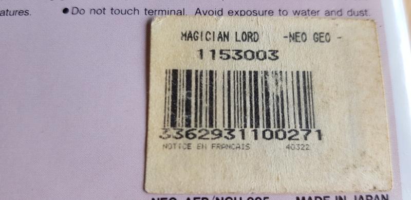 CODE-BARRES AES : sticker en français des versions GUILLEMOT (listing) Magici10