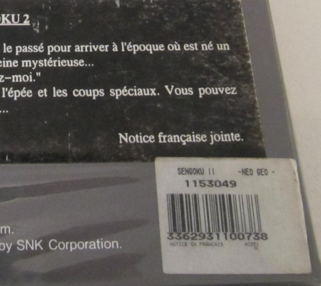 CODE-BARRES AES : sticker en français des versions GUILLEMOT (listing) Sengok11