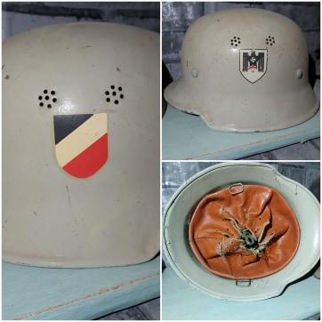Casque allemand WWII 111