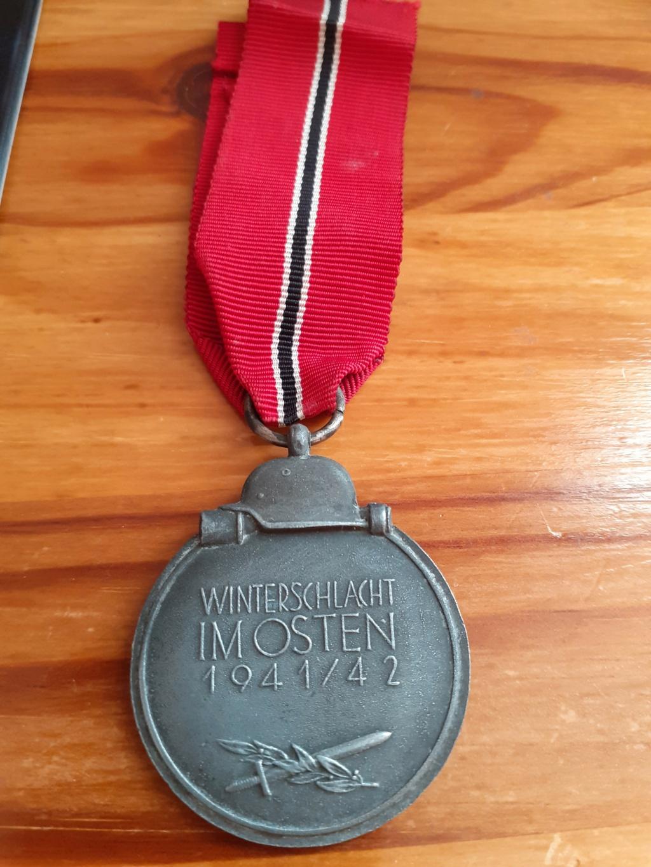 Médaille Allemande WWII 20210711