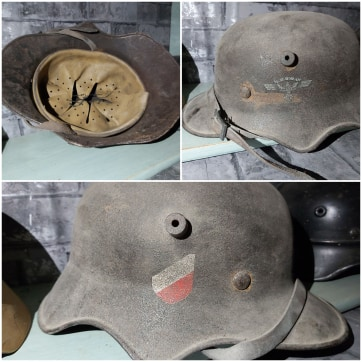 Casque allemand WWII 411