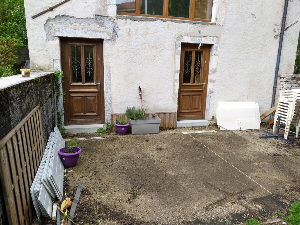 Projet terrasse bois à l'étage : comment faire pour pas tout prendre sur la tète :)  Img_2041