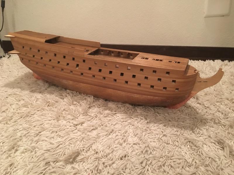 Baubericht HMS Victory 1:98 von Mantua Img_1312