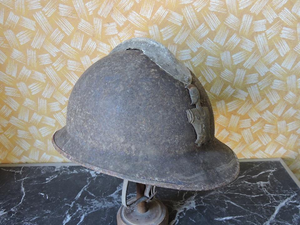 casque adrian WW2 du génie 881d6310