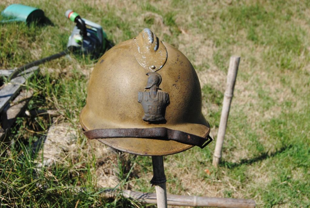 casque adrian WW2 du génie Dsc_0210