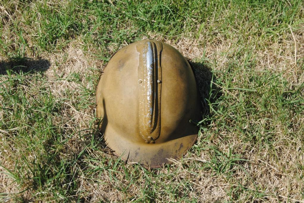 casque adrian WW2 du génie Dsc_0212