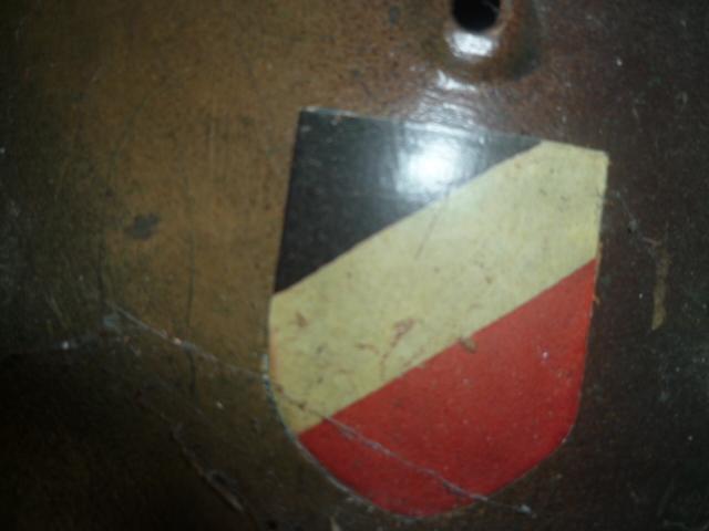 Casque m35 DD avis insigne P1130911