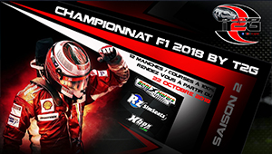 F1 2018 WORLD CHAMPIONSHIP BY T2G SAISON 2