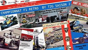 CHAMPIONNAT F1 RETRO BY T2G SAISON 2