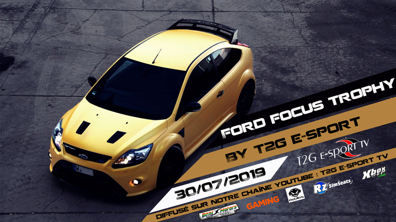 FORD FOCUS TROPHY BY T2G Affich10