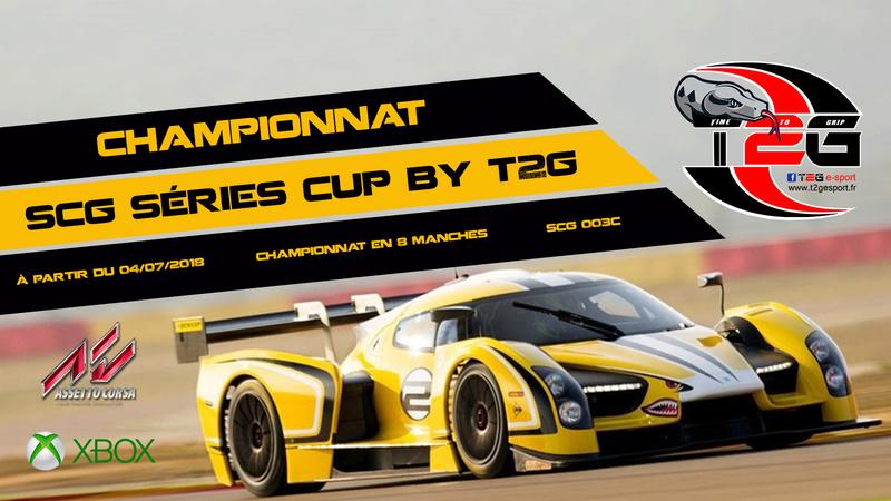 Inscription Championnat SCG Séries Cup By T2G Affich13