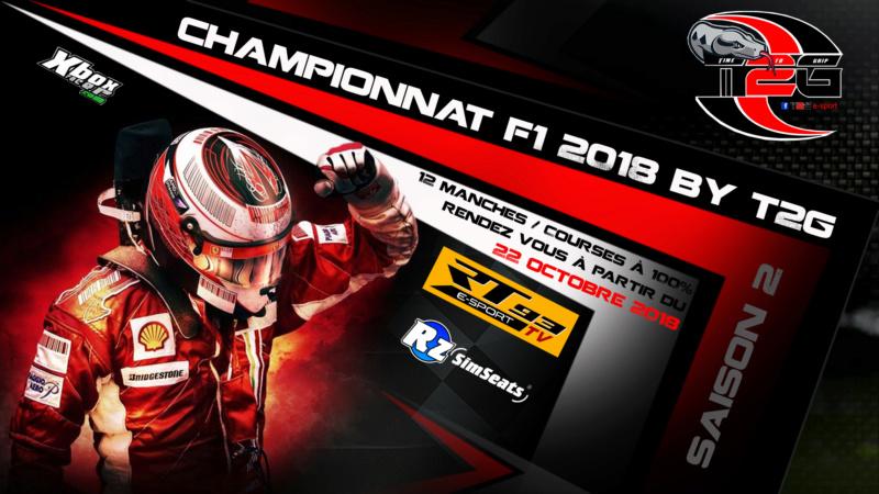 Championnat F1 2018 World Championship BY T2G Saison 2 Affich21